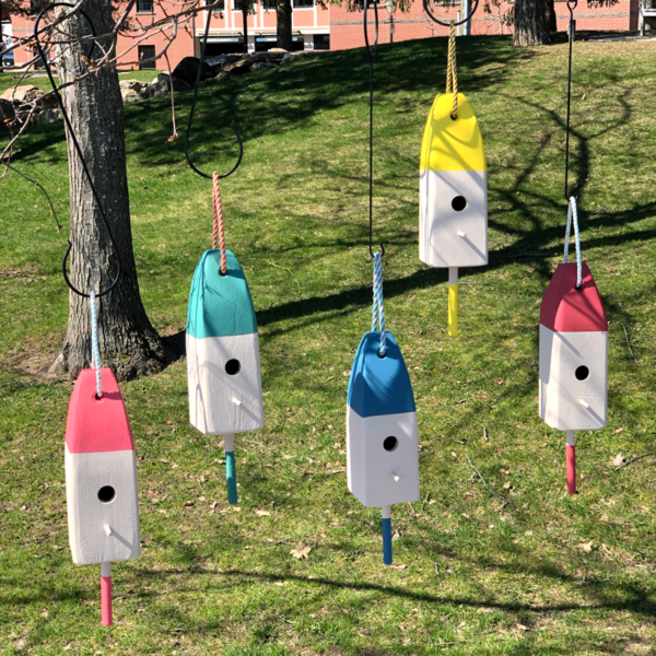 Lobster Buoy Bird Houses