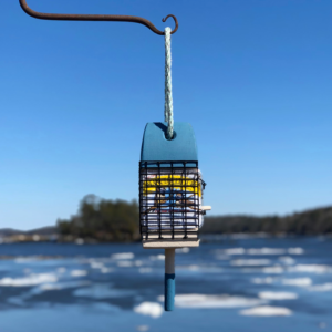Blue Lobster Buoy Suet Feeder
