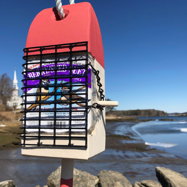 Red Lobster Buoy Suet Feeder