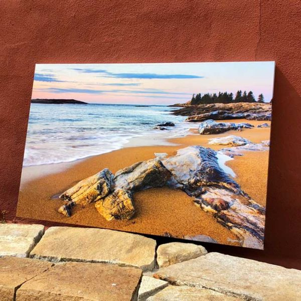 Caption Reid State Park | Canvas by Benjamin Williamson Description