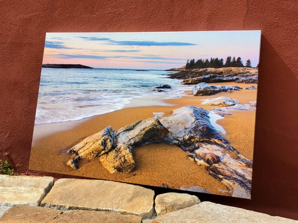 Reid State Park | Canvas by Benjamin Williamson Photography