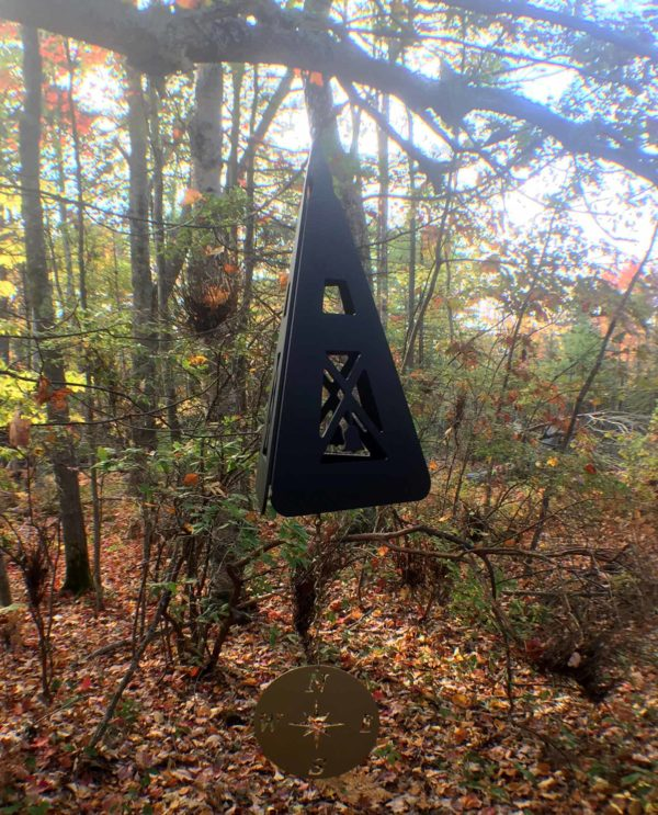 Compass Rose Buoy Bell