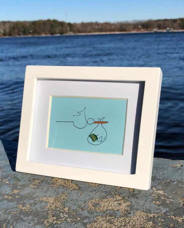 Stork Sea Glass Frames