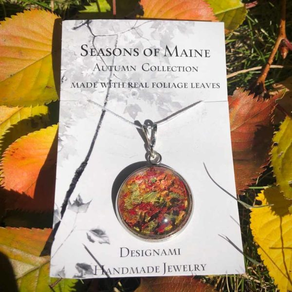 Fall Foliage Pendant