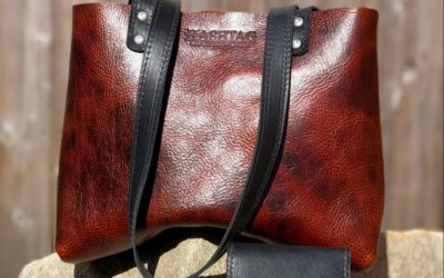 Hashtag Leatherworks Bag and Leather Wallet