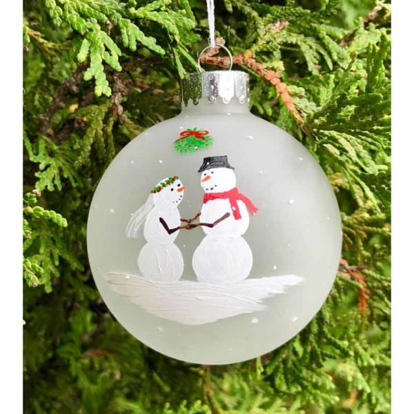 First Christmas Ornaments - Bride / Groom
