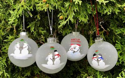 First Christmas Ornaments