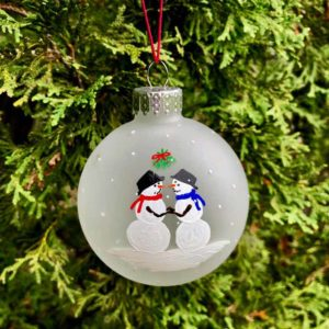 First Christmas Ornaments - Groom / Groom