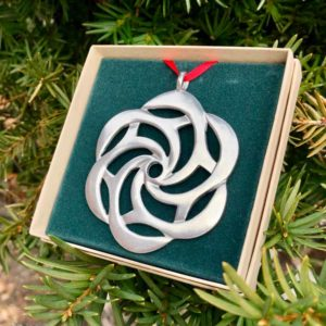 Sea Rose Ornament by Lovell Designs