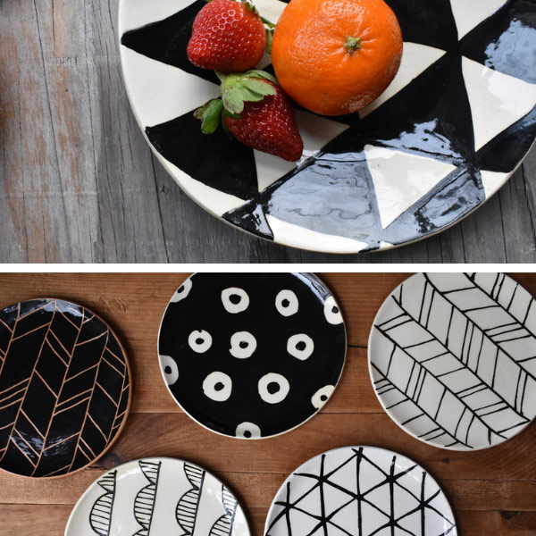 Keramika Pottery - Black & White