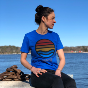Blue Ocean View T-Shirt