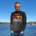 Grey MAINE Long Sleeved Shirt