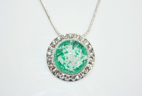 Cremation Jewelry - Medium Fancy Pendant
