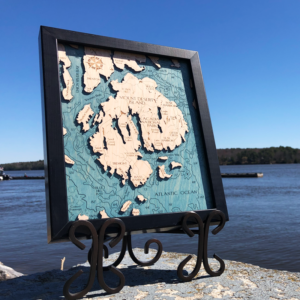 Mount Desert Island 2D Map
