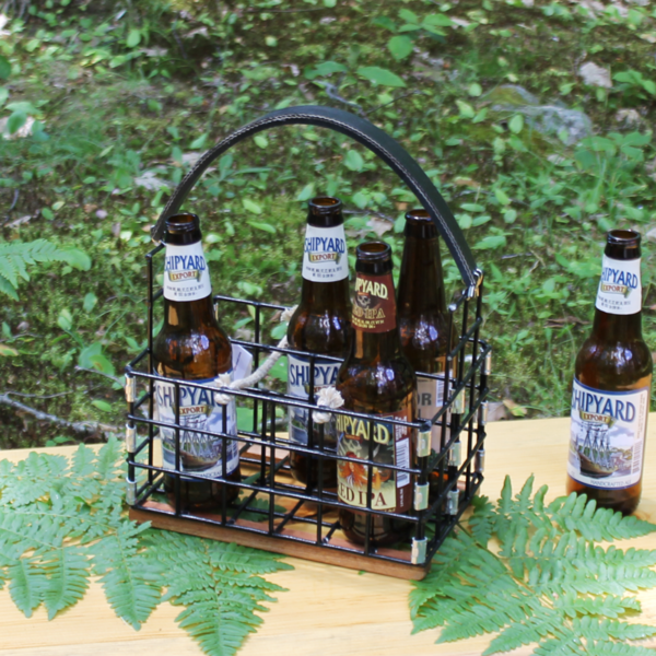 Black Lobster Trap Beer Caddy