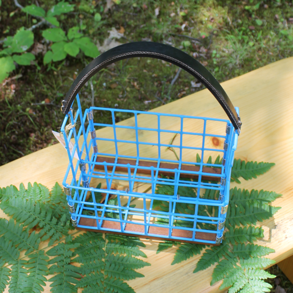 Blue Lobster Trap Condiment Caddy