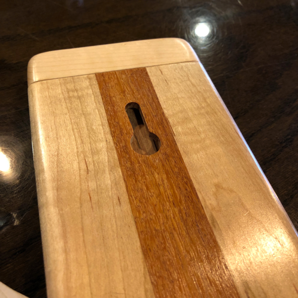 Made in Maine 2 Track Cribbage Board by Wood Accents