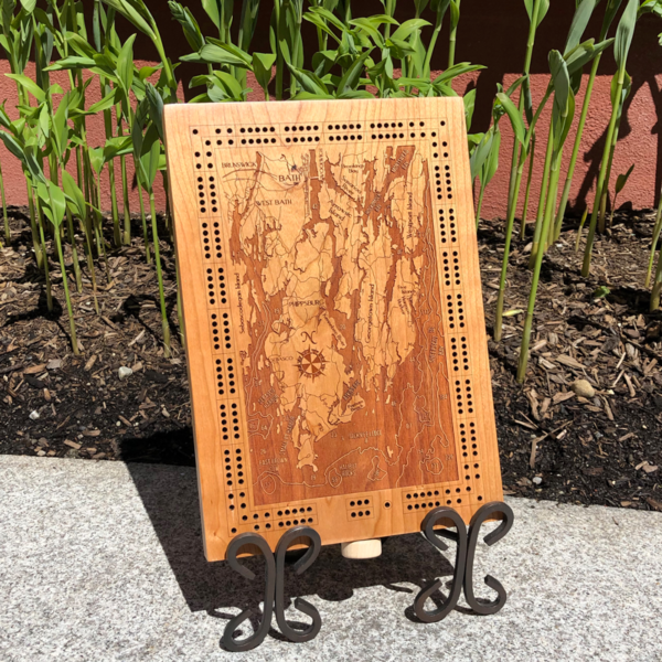 Midcoast Maine Cribbage Board