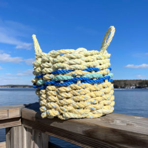 Blueberry Lemonade Lobster Rope Basket