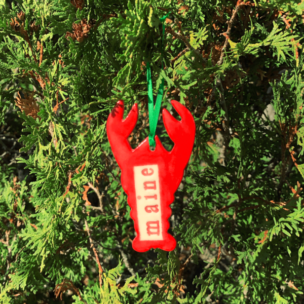 Maine Lobster Ornament