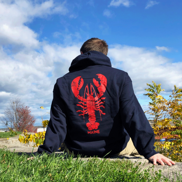 Giant Lobster Adult Hoodie