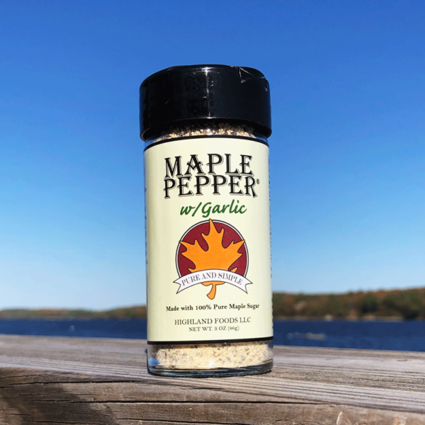 Garlic Maple Pepper