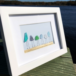 Sea Glass Frame -Family of 6