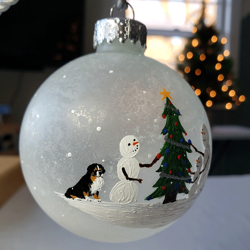 Beth Doan's 2019 Custom Ornaments