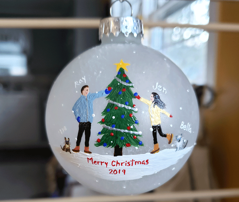 Beth's 2019 Custom Ornaments
