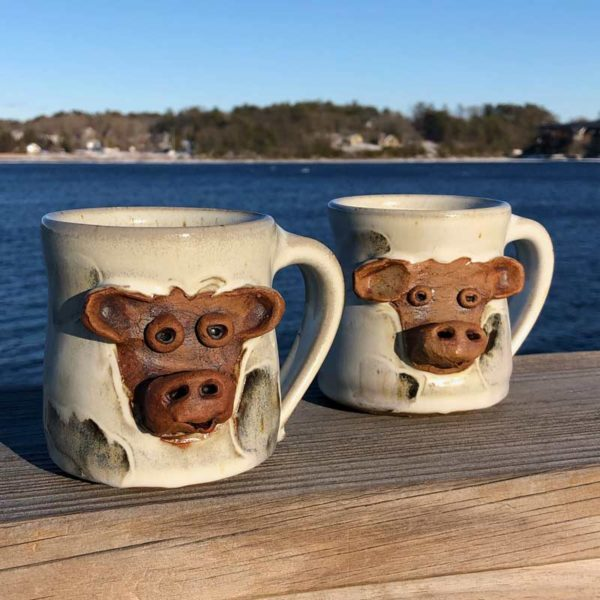 Cow Mug by Westport Island Pottery