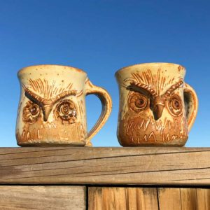 Owl Mug by Westport Island Pottery