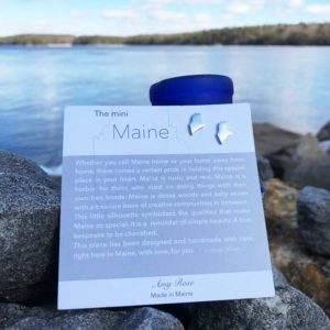 Sterling Silver Mini Maine Earrings