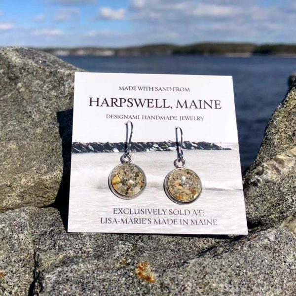 Harpswell Sand Earrings