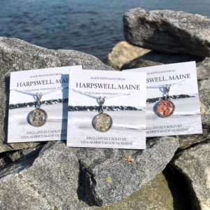 Small Harpswell Sand Pendants