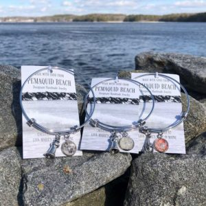 Pemaquid Beach Sand Bangle Bracelet