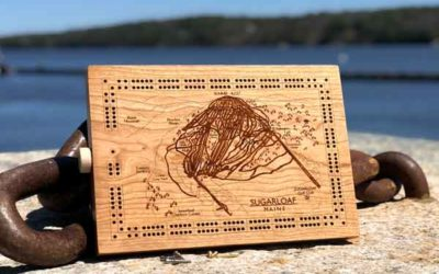 Maine Cribbage Boards