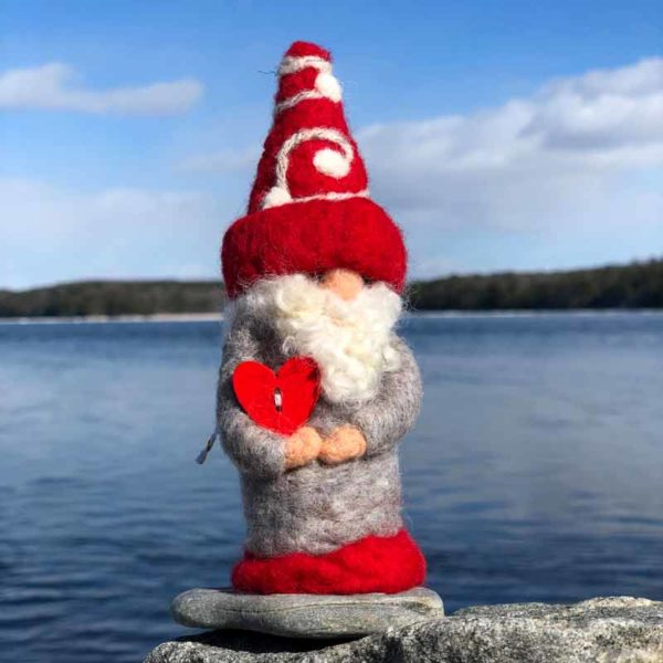 Mister Red & Grey Gnome