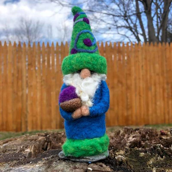 Mister Teal & Green Gnome