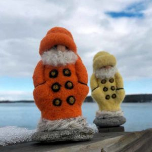 Felted Fisherman