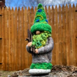 Green Beard Home Gnome