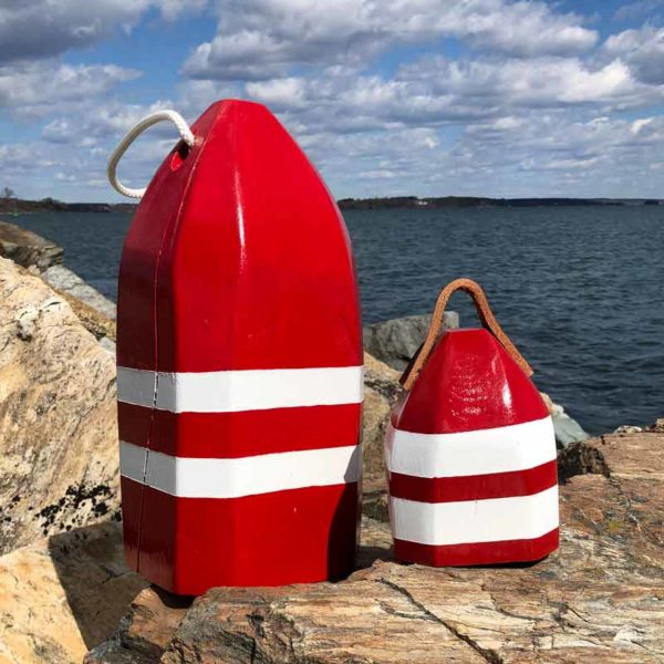 Red & White Lobster Buoy Centerpiece