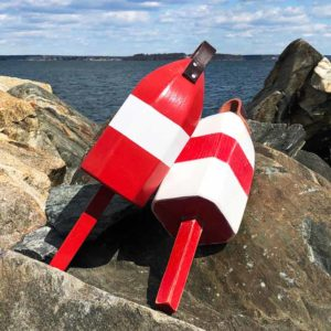 Red & White Lobster Buoy