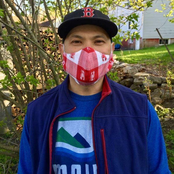 Maine Lobster Mask in Men's size.