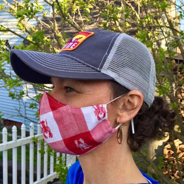 Maine Lobster Mask in Women's size.