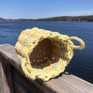 Sunshine Lobster Rope Basket