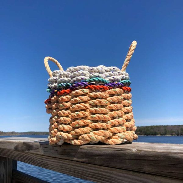 Peach Pop, Lobster Rope, Basket.