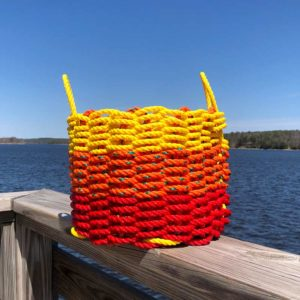 Fire Lobster Rope Basket
