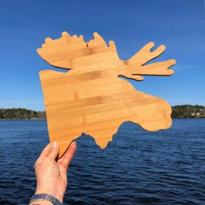 Moose Cutting Board.