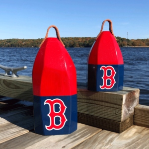Red Sox Buoy Centerpieces