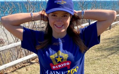Maine Bicentennial T-Shirt and Hat.